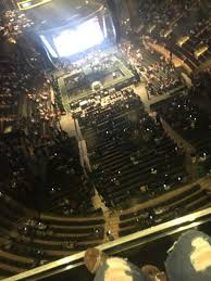 seating view for madison square garden section 320 row 1 seat 17