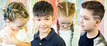 Dětské účesy 2018 Mishahair Studio Představuje Kolekci Protiklady