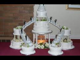 wedding cakes with fountains. Heart Shaped Wedding Cakes With Fountain Intended Fountains