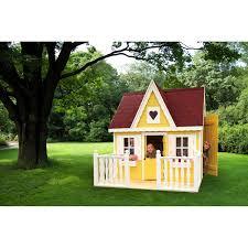 Set Spielhaus Schwalbennest Mit Veranda Kaufen Bei Obi