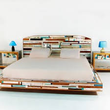 queen bed side view. Siani King Bed. View Details Queen Bed Side