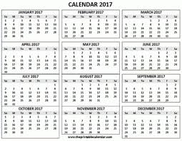 2017 calendars by month month view blank calendar
