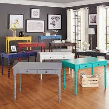 Lyndale 2-drawer Helix Legs Office Desk by INSPIRE Q