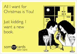 Image result for all i want for christmas is books