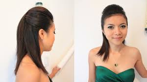 Women Long Hair Style sleek pompadour hairstyle for short medium long hair tutorial 1471 by wearticles.com