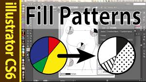 Illustrator Pattern Fill Simple Using Patterns Swatches In Illustrator Points Lines CS48