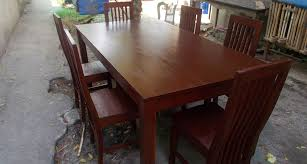 home felimon s made to order furnitures wooden dining table and chairs philippines designs