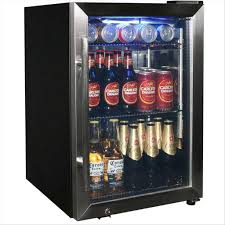 Furniture, Extraordinary Mini Fridge Glass Door Ideas: Mini Fridge Glass  Door for Your Need