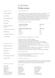 Welder Resume Interesting Welding Resume Examples Welder Template 60 Grand Addition Website
