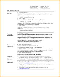 6 Chronological Resume 2015 Cio Resumed