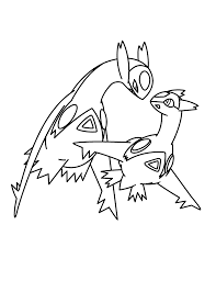 Kleurplaten Pokemon X Y