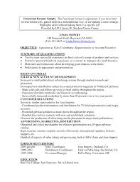 Career Change Resume Templates Free Free Sample Functional Resume