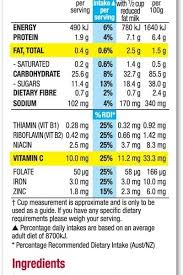 kellogg s froot loops kellogg s in fruit loops nutrition label