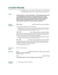 Objective For Nursing Student Resume Resume Example Sample Resume