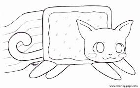 18 Best Of Nyan Cat Coloring Pages Coloring Page