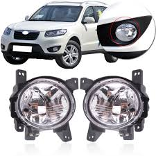 2013 Santa Fe Fog Light Replacement Us 21 25 15 Off Capqx Front Bumper Fog Light Lamp For Hyundai Santa Fe Santafe 2 4 2010 2011 2012 Foglamp Foglight Driving Drl Light Runnlight In