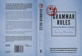 grammar rules book cover design the full jacket including the front back and spine
