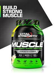 Pro Muscle <b>Advanced</b> Mass <b>Protein Powder</b> 2kg | Vitalstrength