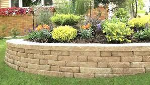 retaining wall block s retaining wall bricks retaining wall brick block home depot fire pit bricks