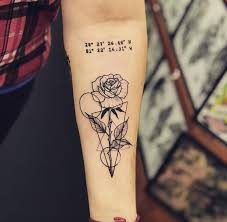 My New Geometric Rose By Lucas Soares At Tattoo Blues In Fort