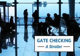 gate checking stroller