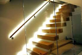 interior step lighting. Recessed Stair Lighting Fashionable Lights Interior Light Glowing . Step E