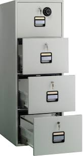 Fire Proof Filing Cabinets Fire Safe File Cabinet 4 Drawer Roselawnlutheran