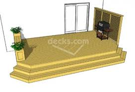 deck stairs sloping ground diy home