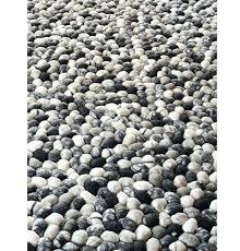 felted wool rug oskar striped grey rugs how to make vaasa