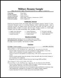 military resume sample thumb military resume example