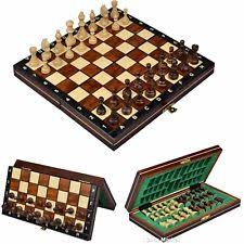105 Magnetic Wooden Travel Chess Game Magnetic Chess eBay 59