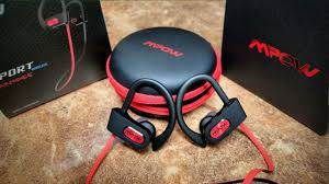 <b>Mpow</b> Sport Wireless Headphones <b>Black</b> & <b>Red</b> Edition - YouTube