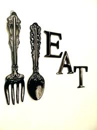 fork wall art giant knife fork and spoon wall art large spoon and fork wall decor