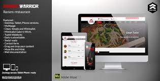 Restaurant Website Templates Stunning Asian Restaurant Website Templates From ThemeForest