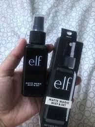 setting spray elf makeup carousell