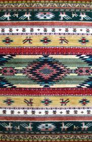 native american rug by
