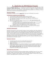 Sample Resume For Graduate School Application sample resume for master degree application Ozilalmanoofco 17