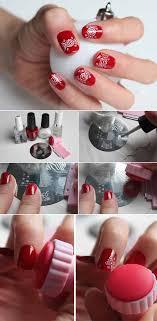 Easy Christmas Designs For Your Nails 35 Christmas Nail Art Designs The Goddess