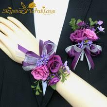 Best value Purple <b>Wrist Corsage</b> – Great deals on Purple <b>Wrist</b> ...