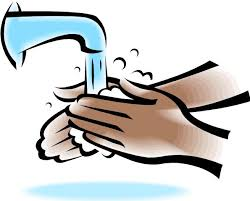 cartoon pictures of washing hands