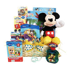 mickey mouse gift basket