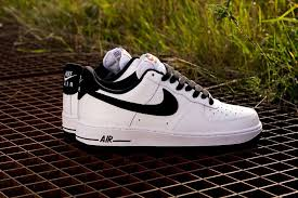 nike air force 1 low black white 2 af1 white