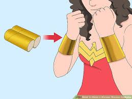 image titled make a wonder woman costume step 16