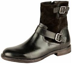 Salt N Pepper Mens Black Ankle Boots