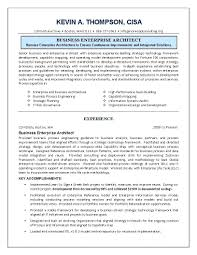 Architectural Engineer Sample Resume Template Business Architecture Template 8