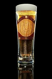 wood inlay customized double wall beer