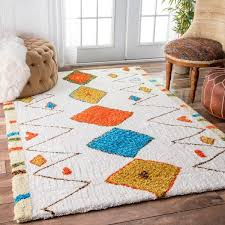 home and furniture adorable area rug at willa arlo interiors welford white reviews wayfair