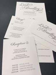 custom destination wedding invitation inserts designed and printed Custom Wedding Invitation Inserts custom elegant wedding invitation collected designed and printed by rengel printing company Insert Wedding Invitation Etiquette
