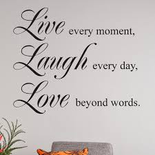 Live Laugh Love Quotes Live Laugh Love Quote Wall Sticker wallstickerscouk 29