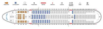 United 777 222 Seating Chart Boeing 777 200 777